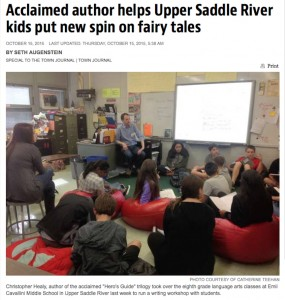 School Visit Article